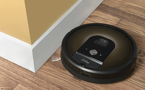 Roomba 980 in action