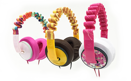 PolyJet 3D printed headphones