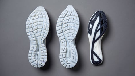 shoes made from PolyJet materials